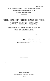 Bulletin - United States. Bureau of Soils