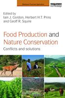 Food Production and Nature Conservation PDF