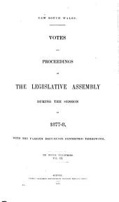 Votes & Proceedings: Volume 3