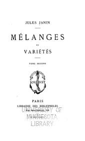 Œuvres diverses de Jules Janin: Volume3