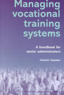 Managing Vocational Training Systems