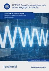 Creación de páginas web con el lenguaje de marcas. IFCD0110