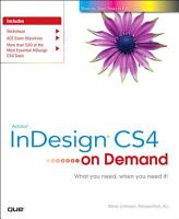 Adobe InDesign CS4 on Demand PDF