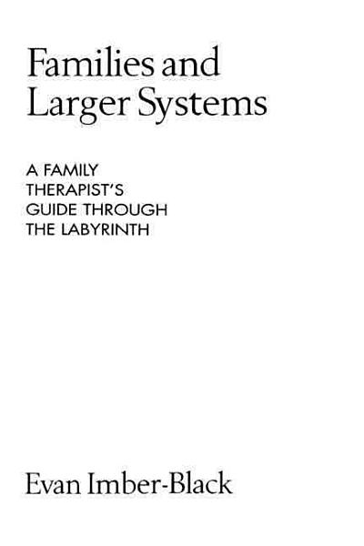 Families And Larger Systems