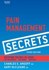 Pain Management Secrets: Edition 3