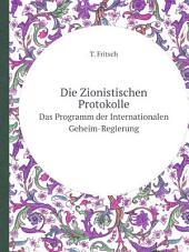 Die Zionistischen Protokolle