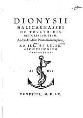 De Thucydidis historia iudicium