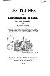 Les églises de l'arrondissement de Dieppe: églises rurales