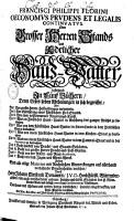 Oeconomus prudens et legalis continuatus  Oder Grosser Herren Stands und Adelicher Haus Vatter PDF