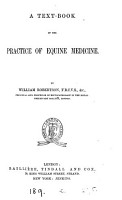A Text book of the Practice of Equine Medicine PDF