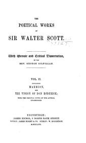 The Poetical Works of Sir Walter Scott: With Memoir and Critical Dissertation, Volume 2