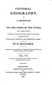 Universal Geography, Or, a Description of All the Parts of the World, on a New Plan: Prussia, Germany, Switzerland, and Italy