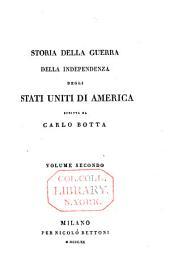 Storia della guerra dell'independenza degli Stati Uniti d'America: Volume 2