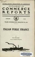 Italian Public Finance PDF