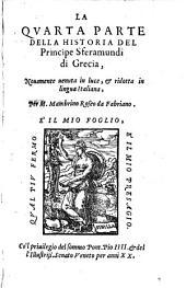 La quarta parte della historia del Principe Sferamundi di Grecia: Volume 21