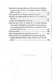 Boletin de la Sociedad de Geografia y Estadistica de la Republica Mexicana: Volumen 2