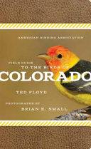 American Birding Association Field Guide to Birds of Colorado PDF