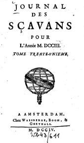 Journal des sçavans: 1703