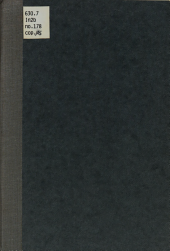 Winter Steer Feeding, 1913-14: Volumes 171-180
