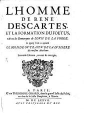 L' Homme De Rene Descartes Et La Formation Du Foetus