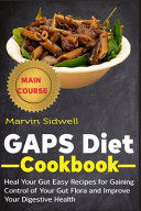 GAPS Diet Cookbook