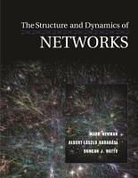 The Structure and Dynamics of Networks  PDF