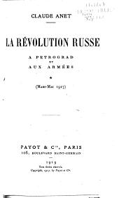 La révolution russe ...
