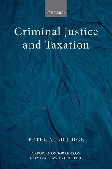 Criminal Justice and Taxation PDF