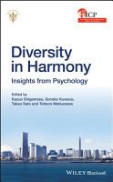 Diversity in Harmony  Proceedings of the 31st International Congress of Psychology  Diversity in Harmony PDF