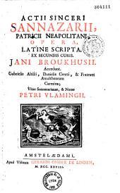 Opera latine scripta...