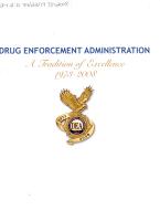 Drug Enforcement Administration PDF