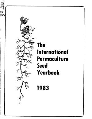 The International Permaculture Seed Yearbook