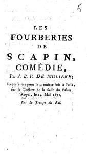 Les fourberies de Scapin: comédie