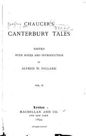 Chaucer's Canterbury Tales: Volume 2