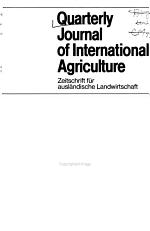Quarterly Journal of International Agriculture
