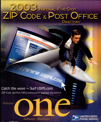 National Five Digit Zip Code And Post Office Directory Book PDF