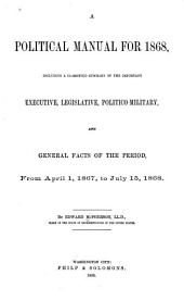 A Political Manual for 1868