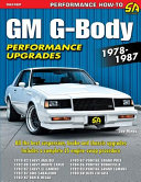 GM G Body Performance Upgrades 1978 1987 PDF