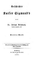 Geschichte Kaiser Sigmund s PDF