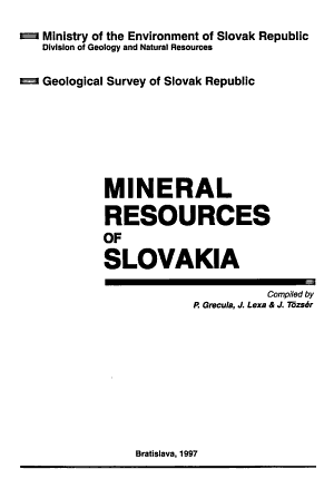 Mineral Resources of Slovakia