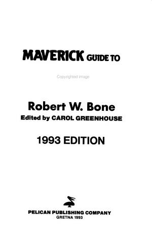 Maverick Guide to Hawaii