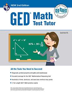 GED   Math Test Tutor  2nd Edition Book