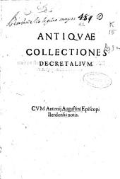 Antiquae collectiones Decretalium