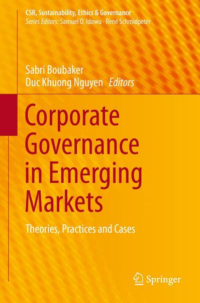 Corporate Governance in Emerging Markets PDF