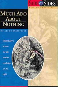 Much Ado About Nothing  Side by Side Book