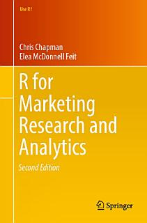 R For Marketing Research and Analytics Book