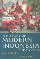 A History of Modern Indonesia Since C  1200 PDF