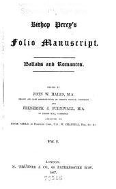 Ballads and Romances: Volume 1
