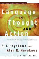 Language in Thought and Action PDF