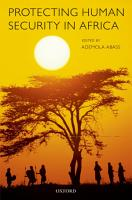 Protecting Human Security in Africa PDF